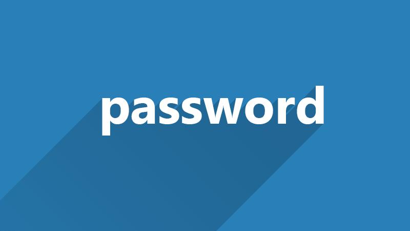 Password tidak aman kata password