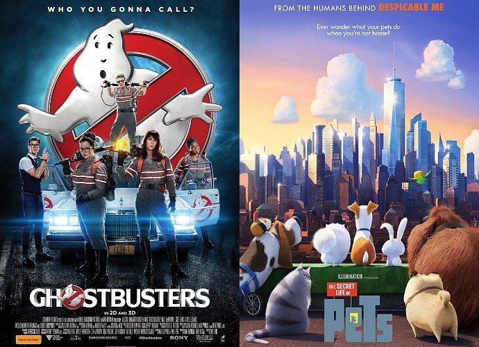 ghostbusters tak bisa takuti pets di box office