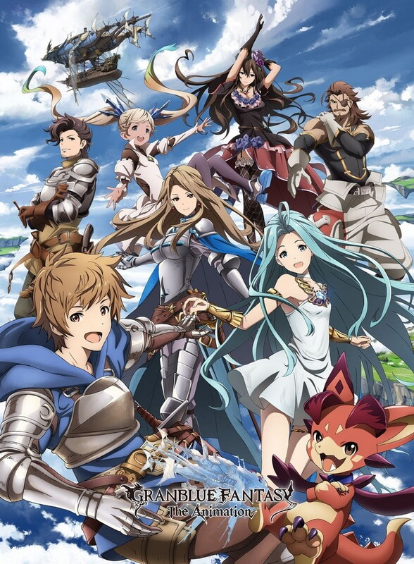 Anime Grandblue Fantasy the Animation