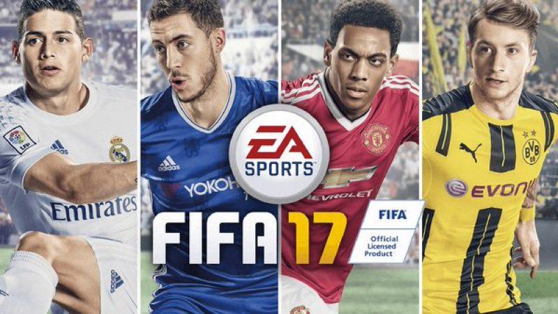 FIFA 2017 Cover