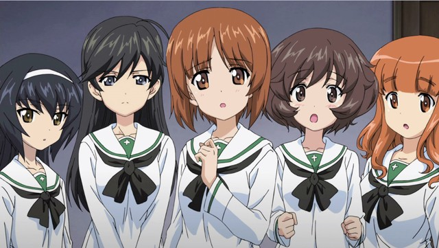 Girl und Panzer (garupan) Sekual Anime baru