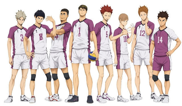 Akademi Shiratorizawa Haikyuu Season 3