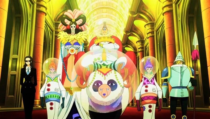 One Piece Film Gold sukses