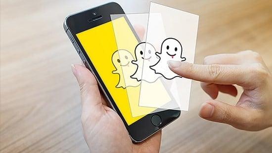 cara simpan foto dan video di snapchat