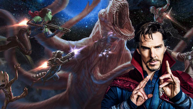 hubungan dostor strange dengan guardians of the galaxy vol. 2