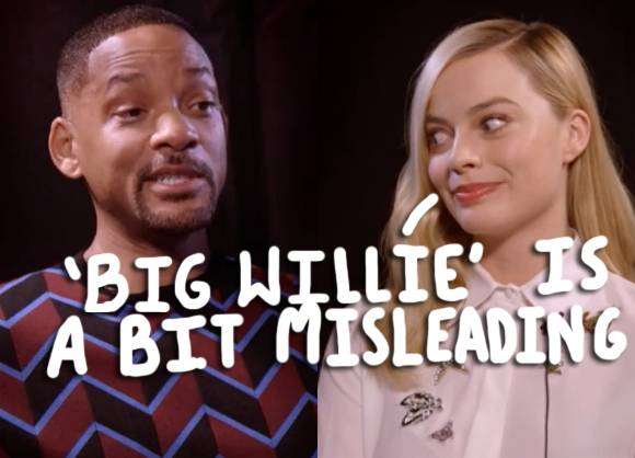 playground insults will smith margot robbie