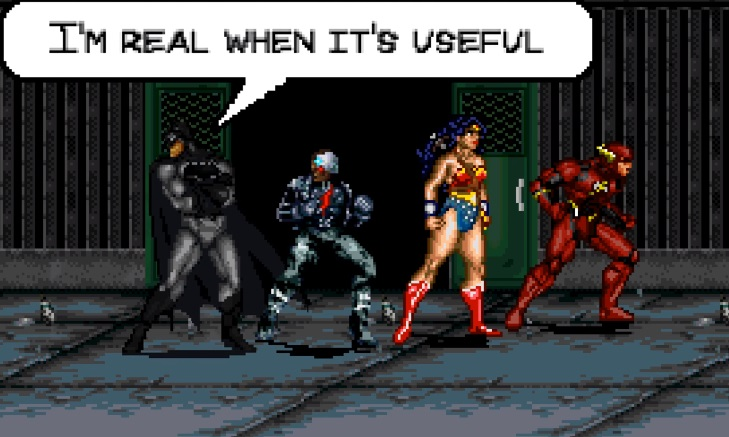 trailer 8-bit justice league