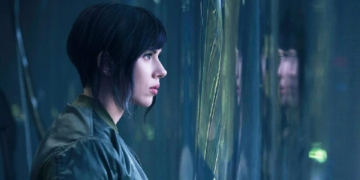 klip baru scarlett johansson ghost in the shell