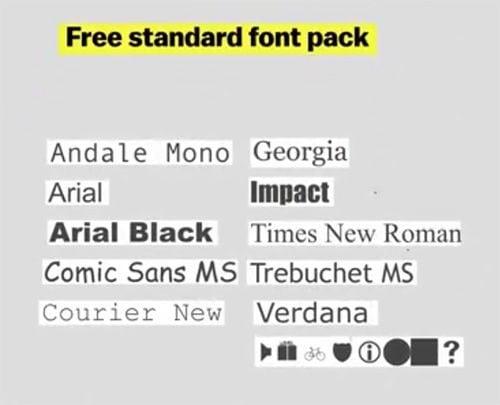 standard-font-daf