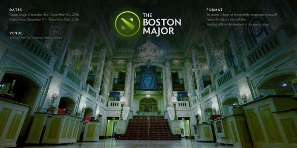 Dota 2 Boston Major