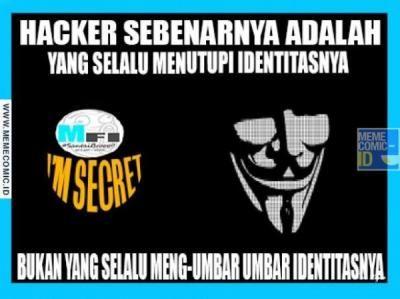 Foto Meme Hacker Hekel di Dafunda (1)