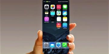 Ilustrasi iPhone 8