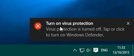 cara mematikan dan menghidupkan windows defender
