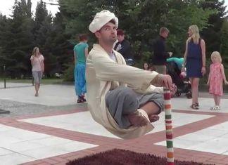 ini trik duduk melayang