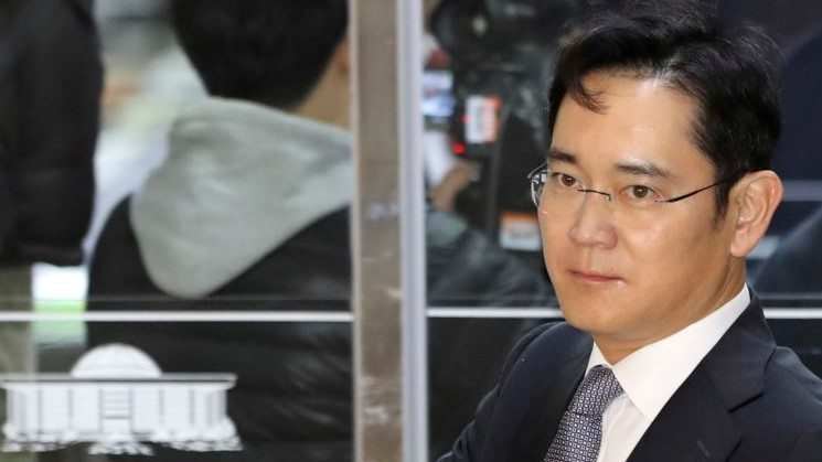 pimpinan Samsung ditangkap