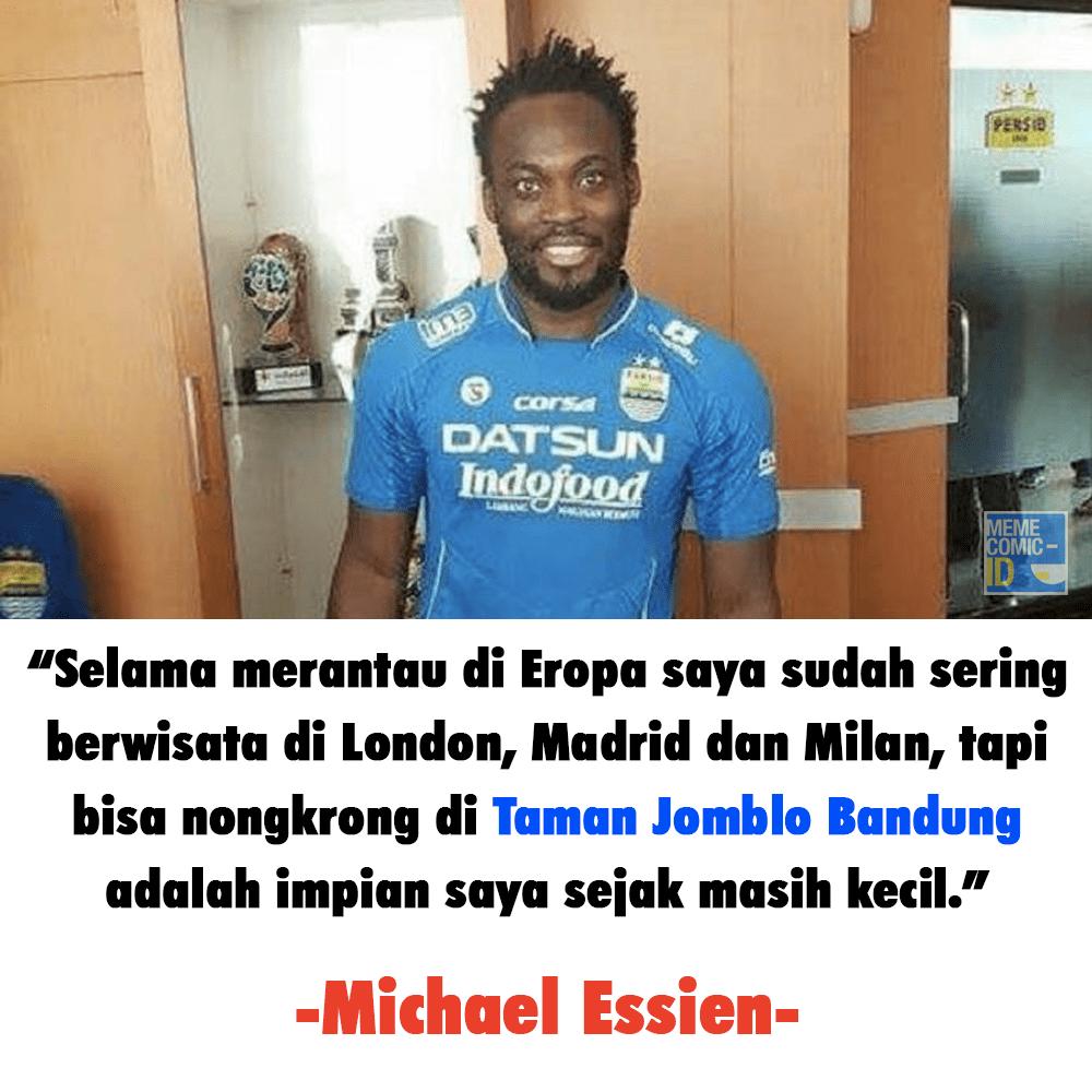 Meme Essien ke Persib Bandung (2)