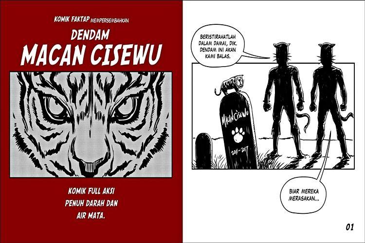 komik strip macan cisewu