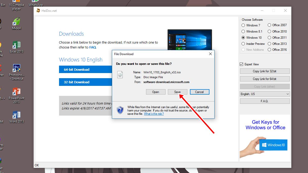 Download Windows 10 Creator Update ISO 1 - Cara Download File ISO Windows 10 Creators Update Langsung Dari Server Microsoft | Dafunda Tekno