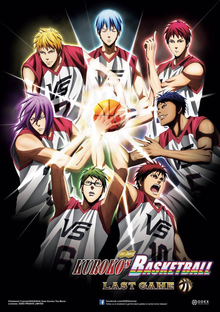 Kuroko no Basket Last game tayang di Indonesia