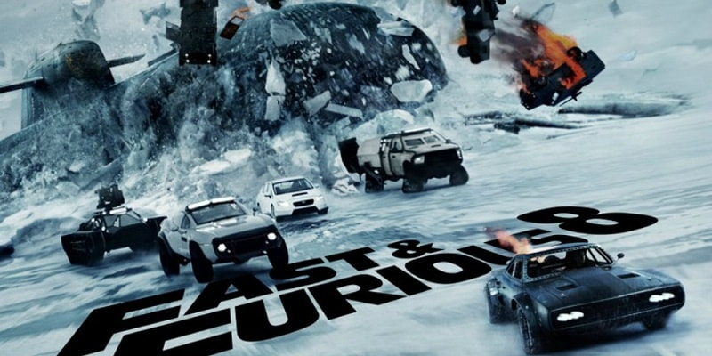 The Fate of The Furious F8 Movie