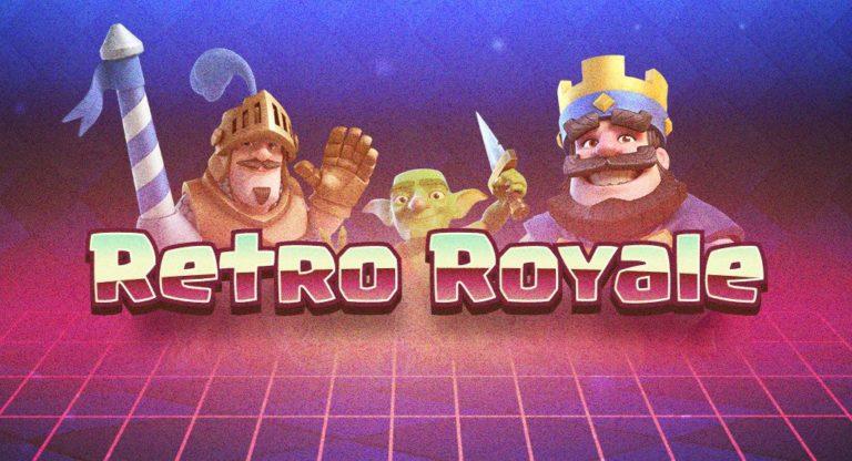 Retro Royale Title