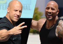 Vin Diesel Dwayne Johnson Fate of the furious