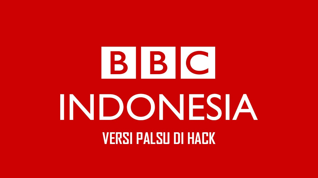 BBC Indonesia Palsu