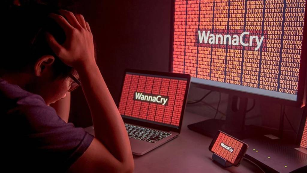 Virus Ransomware Wannacry window