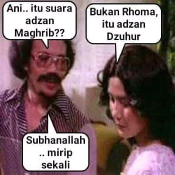 meme nunggu adzan maghrib 5