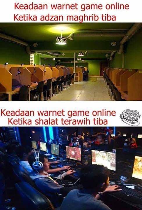 meme nunggu adzan maghrib 8