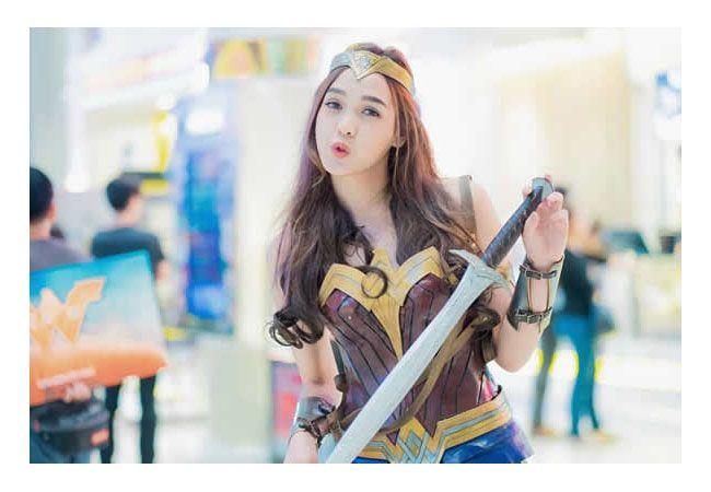 cosplay wonder woman 3