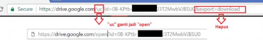 cara mengatasi masalah saat download di Google Drive