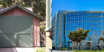 10 lokasi perusahaan saat pertama merintis karir
