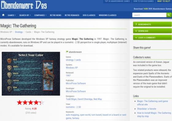 Situs Download Game Lawas Secara Gratis dan Legal ...