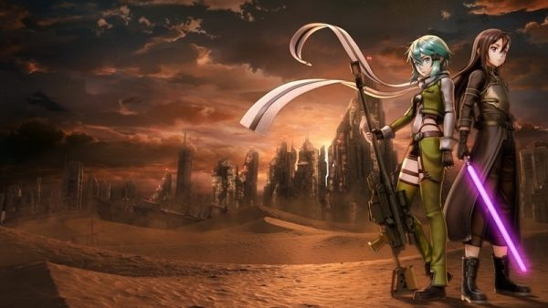 Game Swords Art Online Fatal Bullet 01