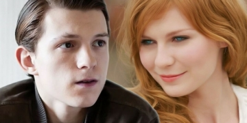 Tom Holland dan Kristen dunst Spiderman Homecoming