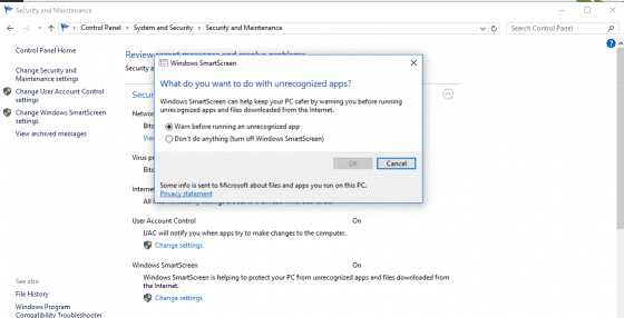 cara mematikan mata-mata di Windows 10