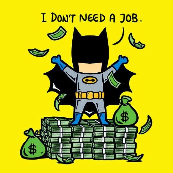 kerja sampingan superhero 10