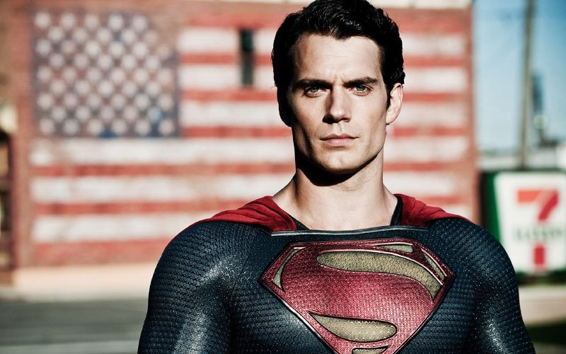 superman di poster baru justice league