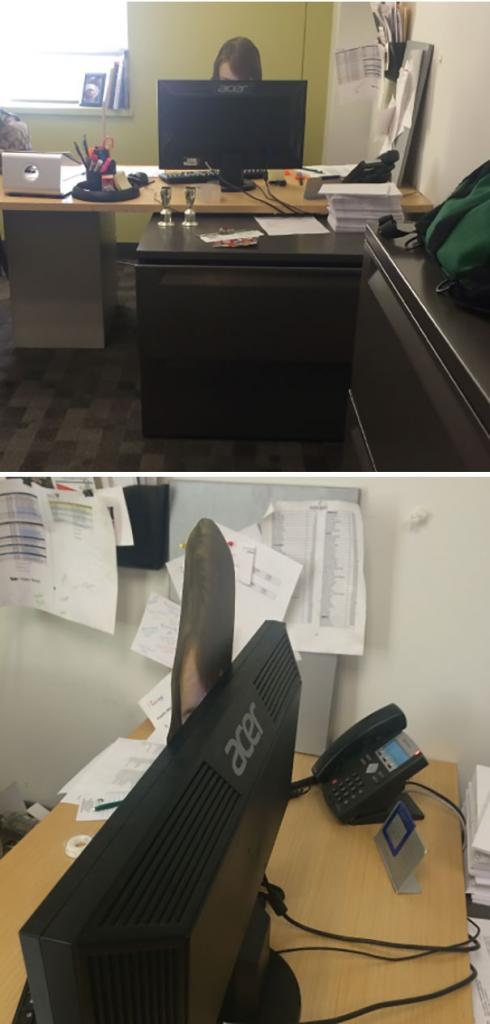 tingkah konyol orang di kantor 1
