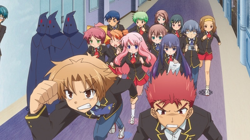 Anime Baka to test season 3 DAFUNDA