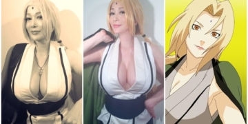 Cosplayer Tsunade Naruto