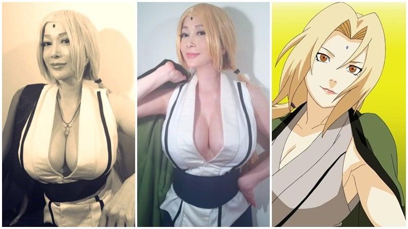 Cosplayer Tsunade Naruto