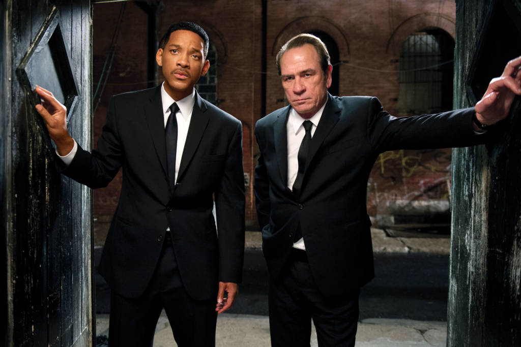 spin-off men in black