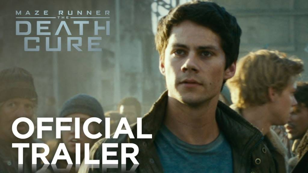 official trailer maze runner death cure