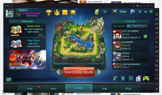 Cara Bermain Mobile Legends Di PC Dafunda (2)