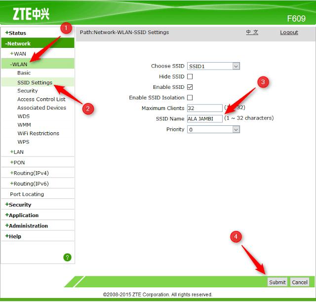 Cara Setting Modem ZTE Lengkap Dafunda (2)