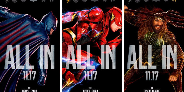 poster baru justice league