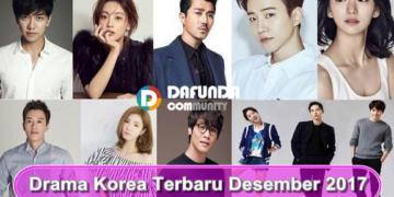 Jadwal Drama Korea Desember 2017