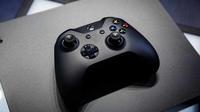Microsoft Xbox One X Min